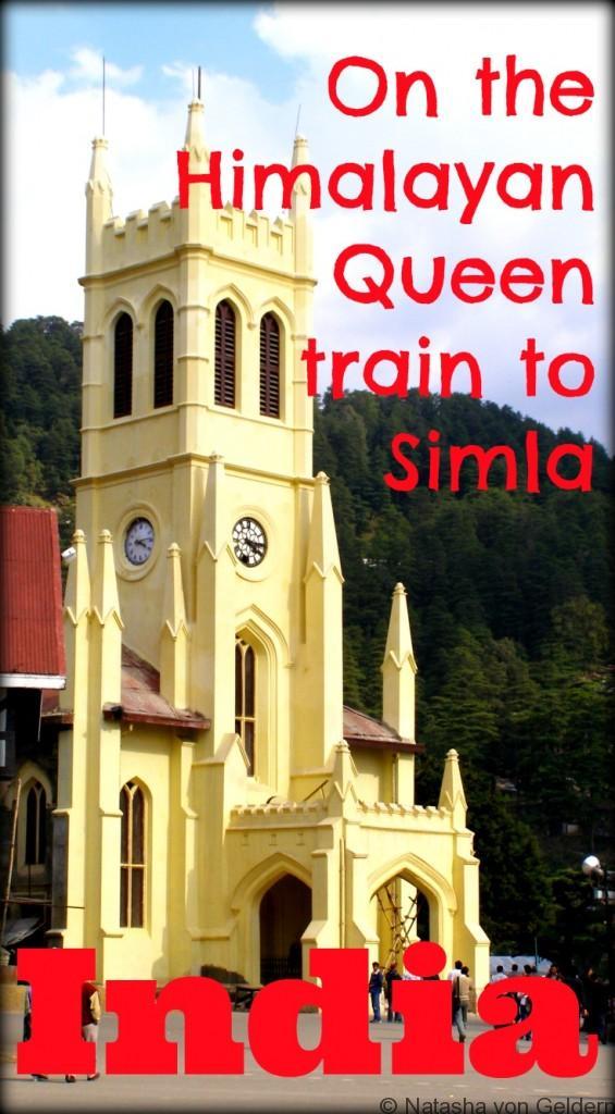 Himalayan Queen train to Simla India