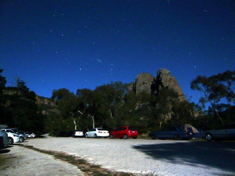 Rock climbing Mt Arapiles, Australia