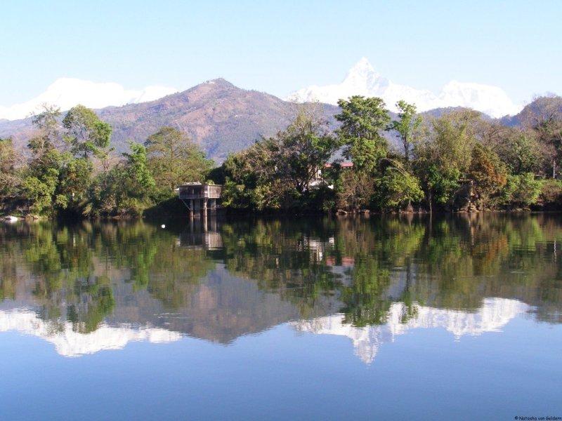 Phewa Lake, Pokhara, Nepal