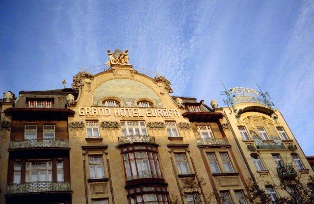 Grand Hotel Europa, Prague, Czech Republic
