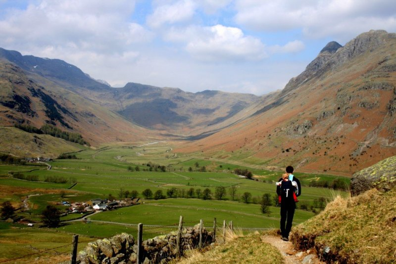 English Lake District Day Walks Langdale Valley