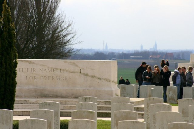 Tyne Cot cemetery, Battlefields of the Western Front
