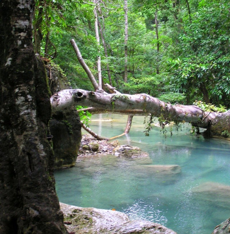 Erewan Falls, Kanchanaburi, Thailand