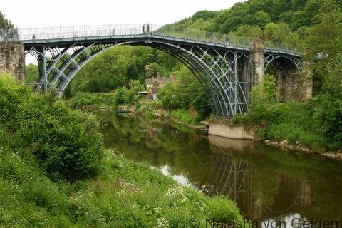 Ironbridge Gorge in Shropshire