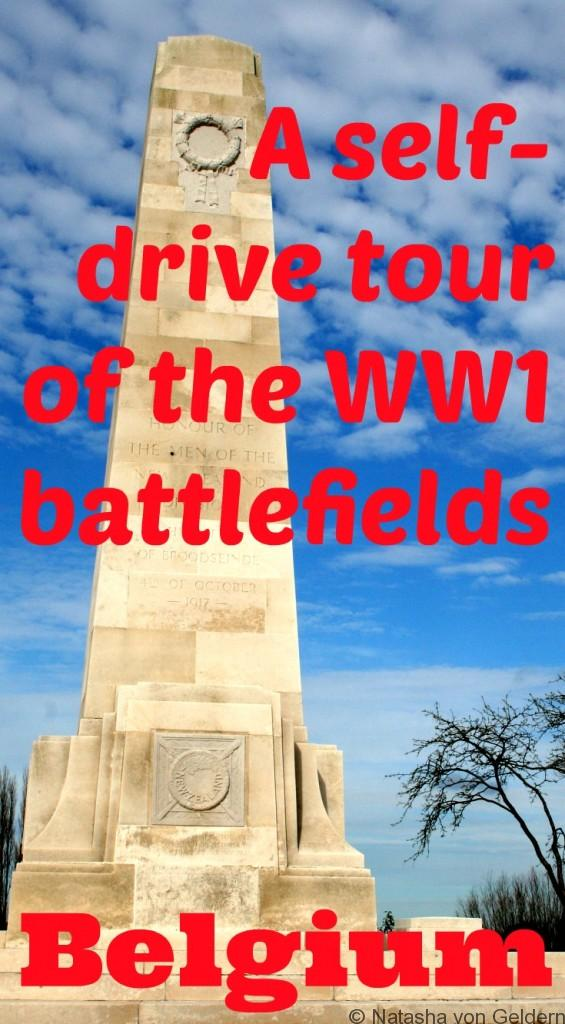 Self drive tour of the WW1 battlefields Ypres Belgium