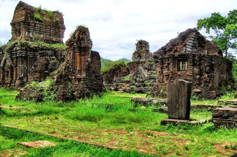 Ruins of My Son in Vietnam