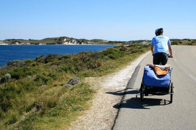 CYcling on ROttnest Island, Australia