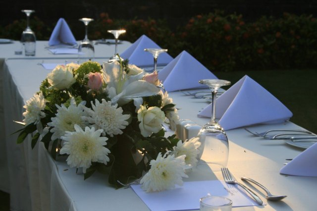 A destination wedding in Bali