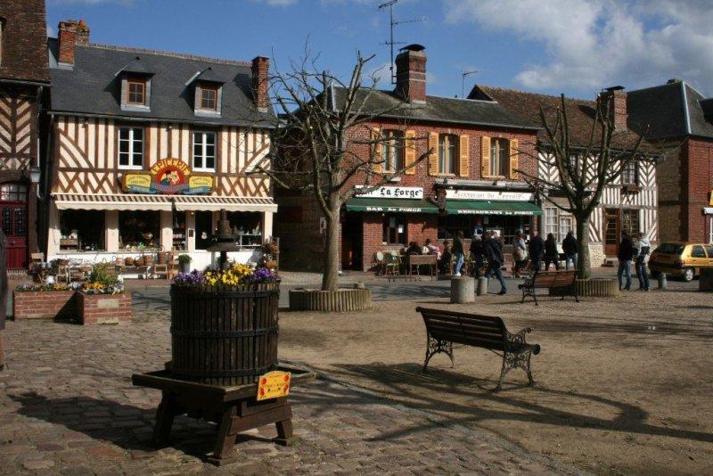 Beuvron en Auge, Normandy, France