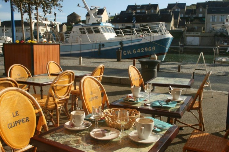 Port au Bessin, Normandy, France