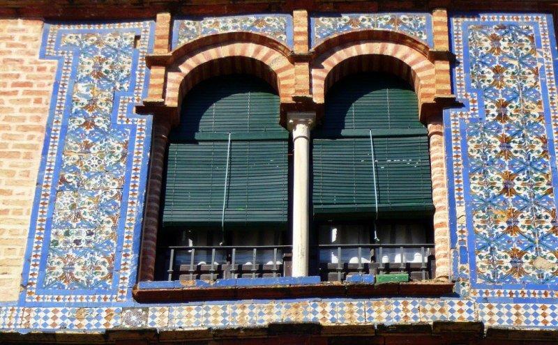 Tilework in Carmona, Spain