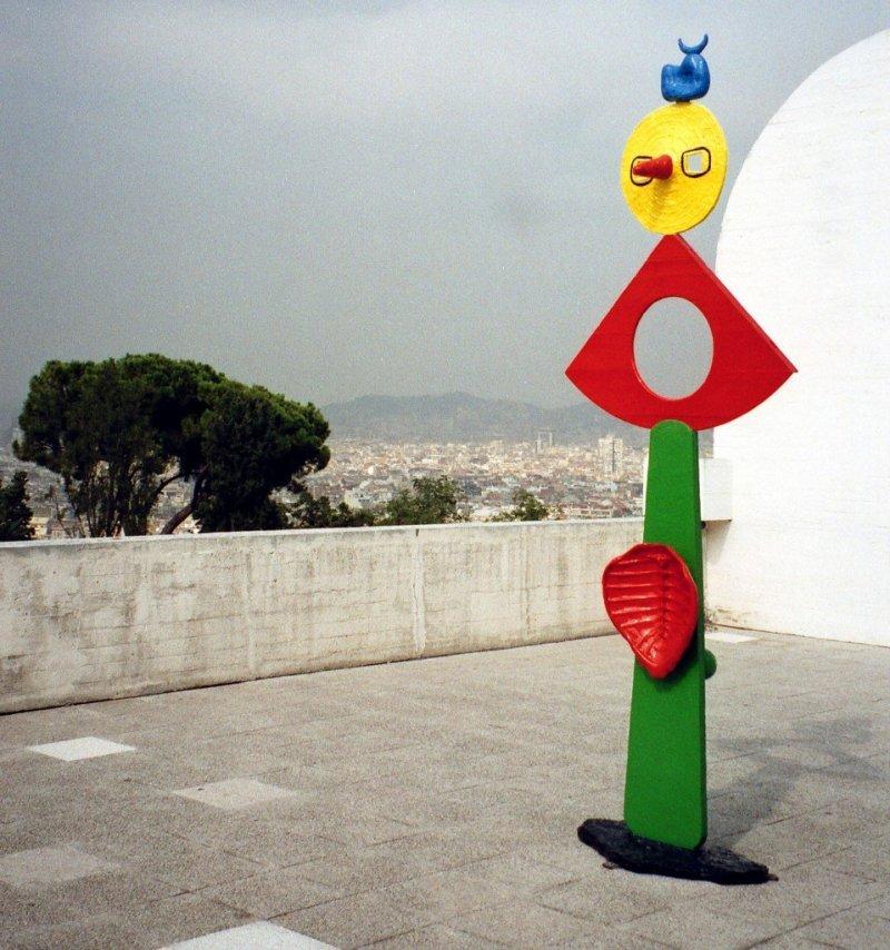 Joan Miro Fondacion, Barcelona