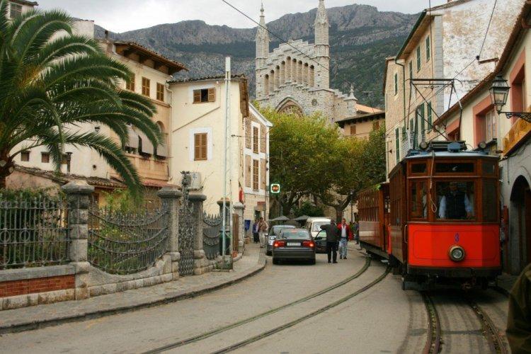 Soller to Palma train, Mallorca
