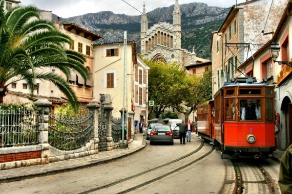 The Tren de Soller in Mallorca