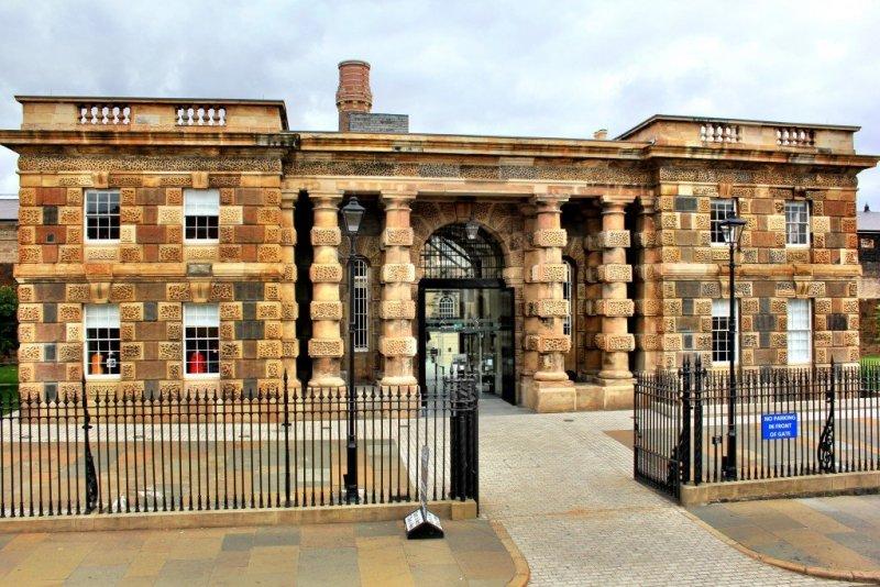 Crumlin Rd Gaol in Belfast, Northern Ireland