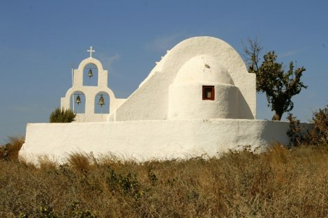 Greek Islands chapel