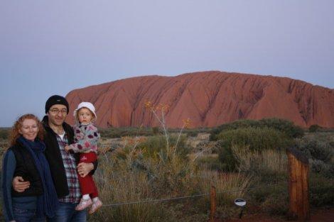 von Gelderns at Uluru, Australia