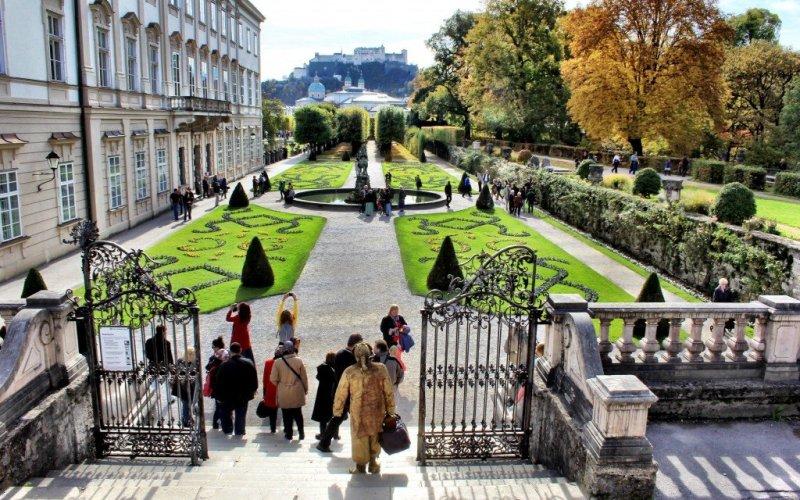 The Mirabell Gardens, Salzburg