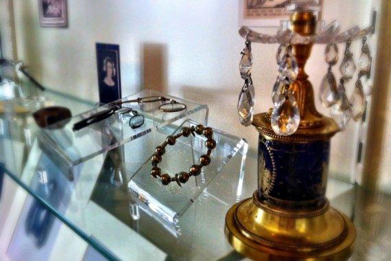 Bright Star display case - Fanny Brawne at Keats House