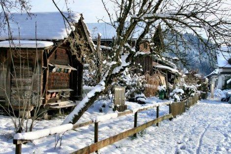 Emmental Valley houses, Switzerland
