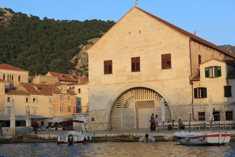 Hvar Town - Venetian theatre