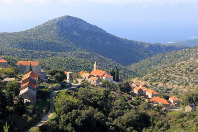 Hvar rural villages in Croatia