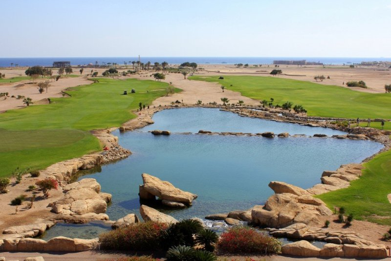 Soma Bay golf course, Red Sea Egypt
