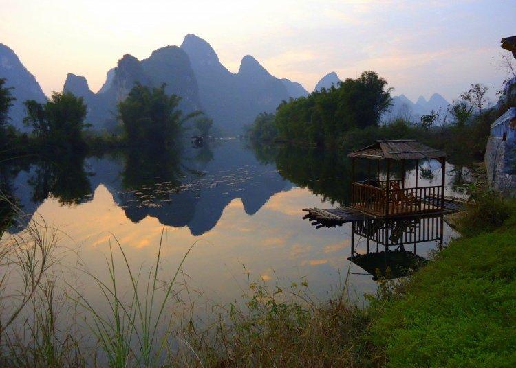 View from Yangshuo Mountain Retreat