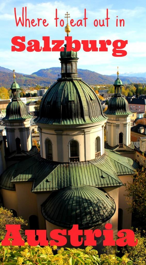 Top places to eat in Salzburg Austria