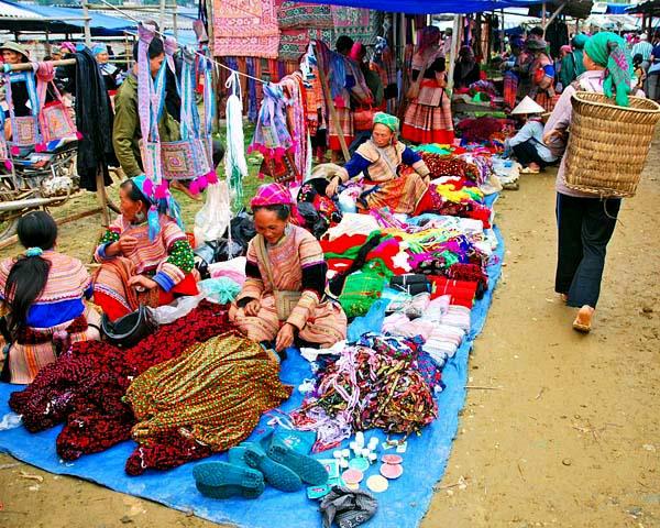 Prague Hmong market