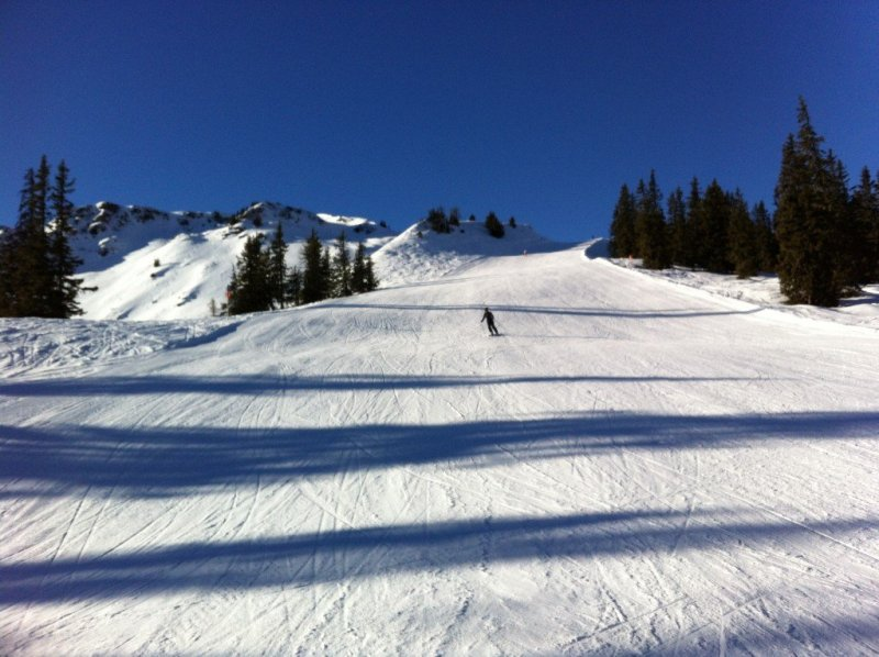 Skiing Hochkonig in Austria