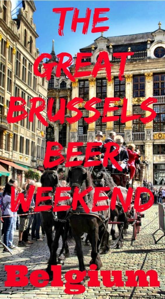 The Great Brussels Beer Weekend Belgium