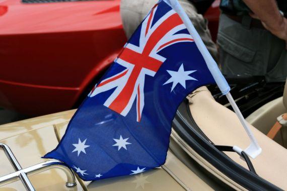Sydney, Australian Flag