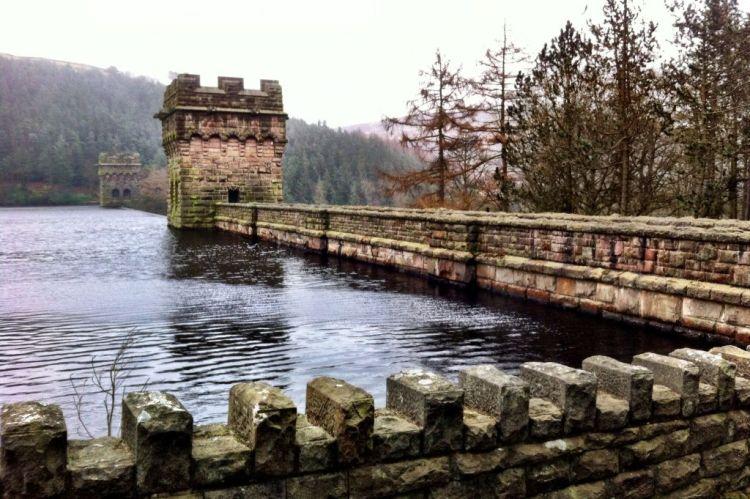 Derwent dams, Derbyshire