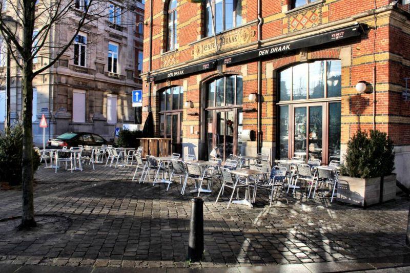Draakplaats in Antwerp's Zurenborg district, Belgium