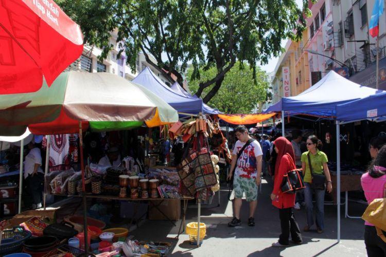 Gaya Street Sunday Market Kota Kinabalu Malaysia