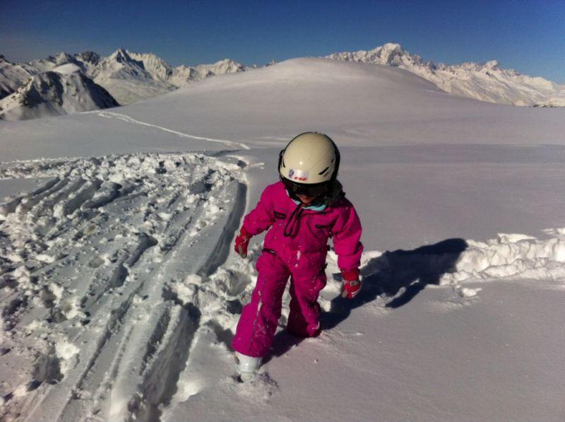 Ski fun in France