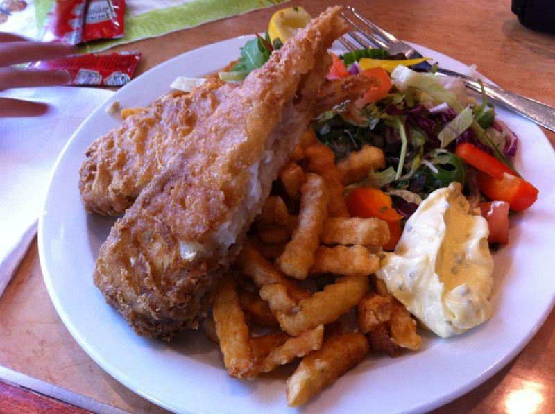 Food on the Hurtigruten ship, Norway coastal voyage