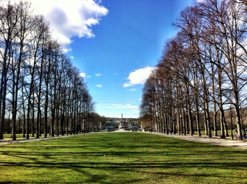 Vigeland Sculpture Park, Oslo Norway