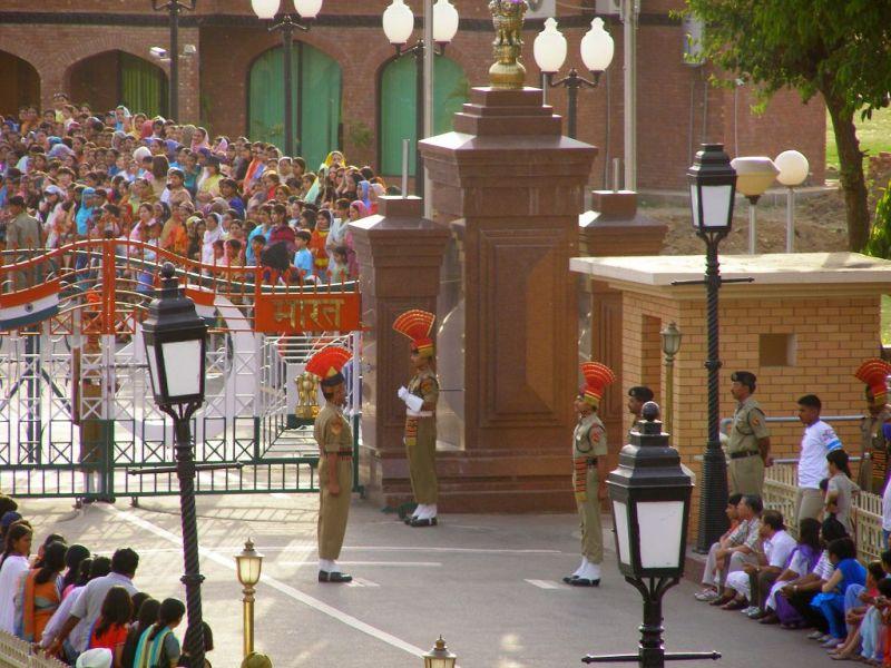Waggah ceremony, Punjab India