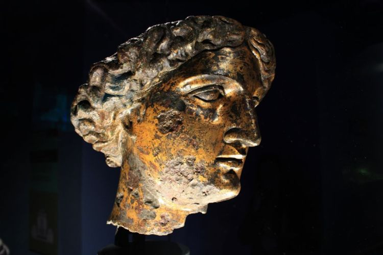Minerva at the Roman Baths, England