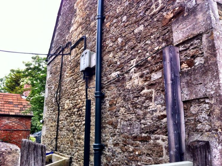 Modern stuff in Lacock, Wiltshire England