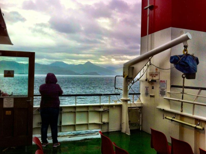 Ferry from Mallaig to Skye