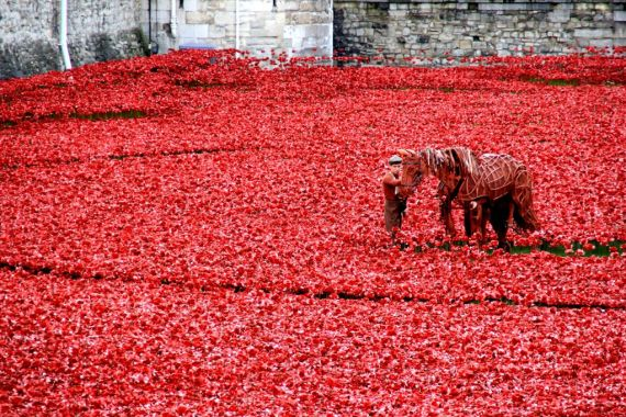 Blood swept lands & seas of red, Tower of London