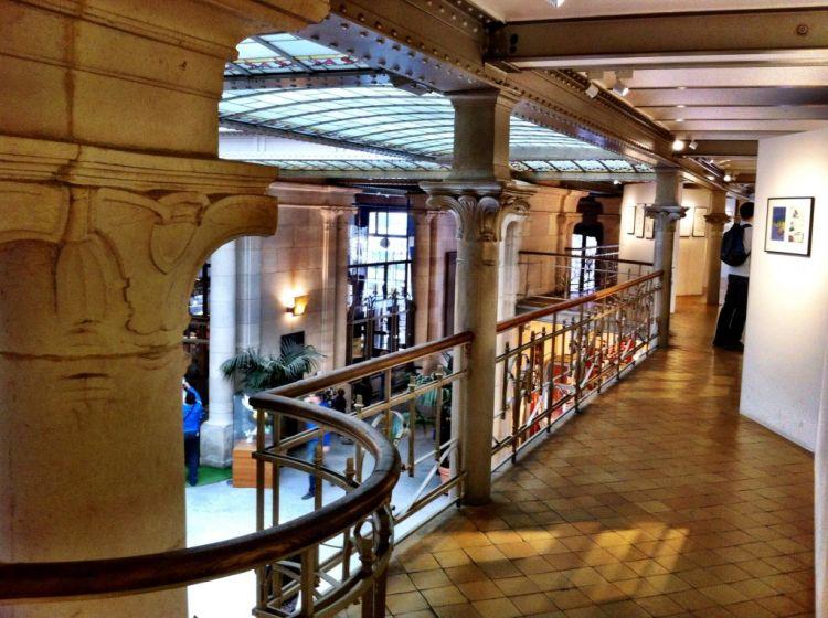 Victor Horta designed Comic Arts Museum, Brussels