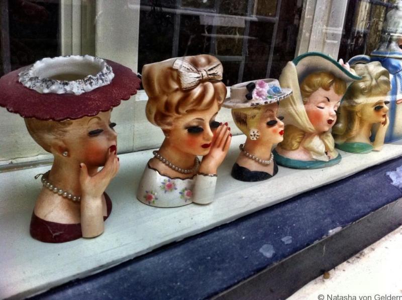 Jordaan shopfronts in Amsterdam