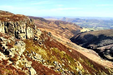 Hiking in the Peak District, Derbyshire
