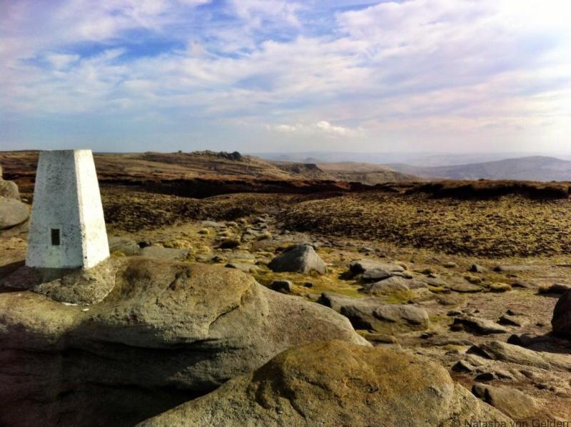 Peak District hiking in England