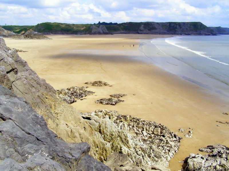 Three Cliffs Bay, Gower Peninsula Wales