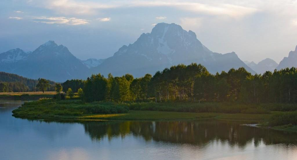 Oxbow Bend, Wyoming Photo by Brendan Caffrey via Trover
